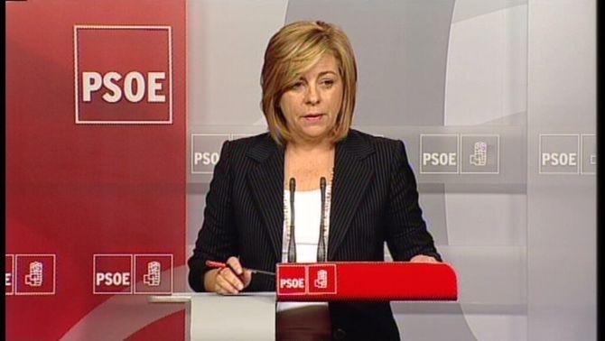 La vicesecretària general del PSOE, Elena Valenciano.