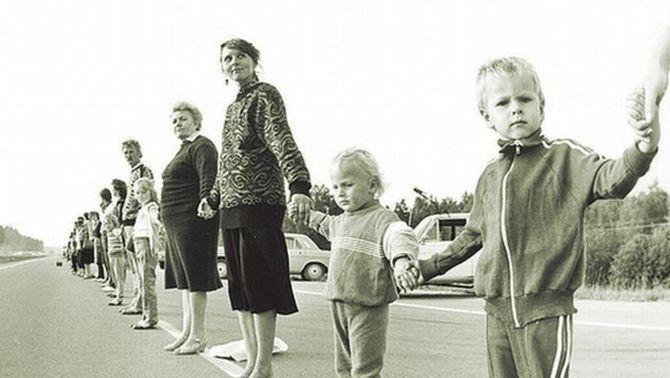 Cadena bàltica del 23 d'agost del 1989.