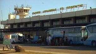 L'aeroport de l'illa de Kos, a Grècia