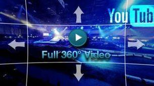 Els espectaculars vídeos en 360º vistos al programa