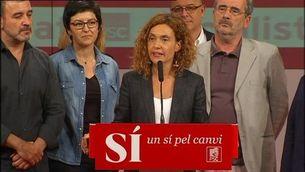 """Batet: """"Gràcies als que s'han negat a permetre un govern del canvi, Rajoy surt reforçat"""""""