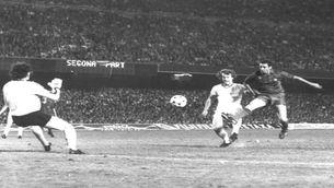 L'històric gol de Quini a l'Standard de Lieja a la final de la Recopa del 82