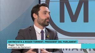 """Roger Torrent: """"Llarena té una oportunitat d'or per rectificar i no vulnerar els drets polítics de Sánchez"""""""