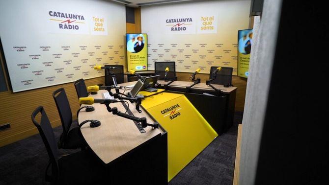 Nou estudi de Catalunya Ràdio