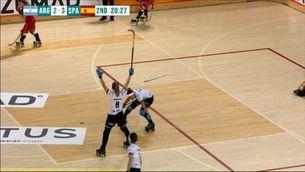 La selecció espanyola femenina d'hoquei patins, campiona del món