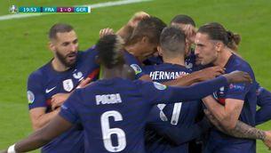 Resum del França-Alemanya (1-0)