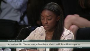 """Simone Biles: """"No vull que cap altra gimnasta hagi de passar pels abusos sexuals que jo i centenars hem patit"""""""