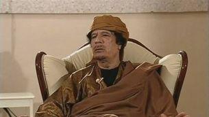 Gaddafi desafia la comunitat internacional