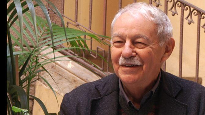 L'escriptor Eduardo Mendoza.
