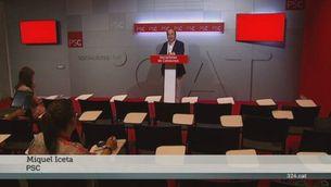 Reaccions polítiques catalanes al decret