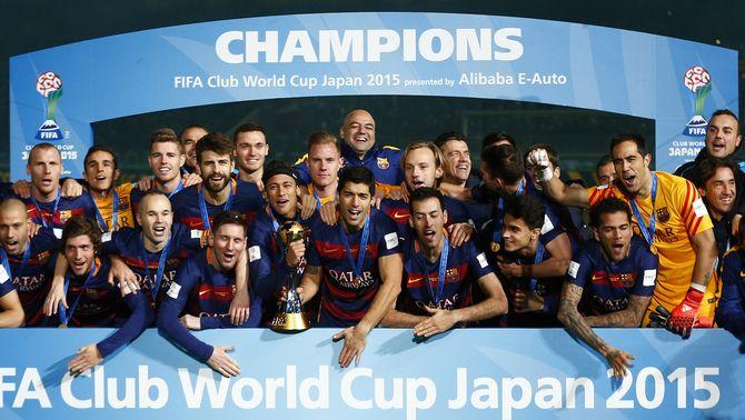 """El Barça fa el """"cinc de sis"""" i torna a confirmar el domini sobre el futbol mundial"""