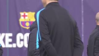 Imatge de:El Barça afronta els quarts de la Champions sense Aleix Vidal