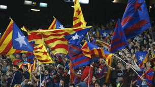 El Barça recorre contra la prohibició d'estelades