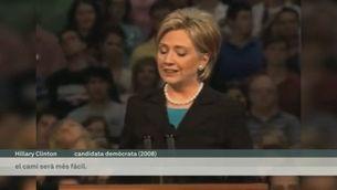 Hillary Clinton ja és candidata a la Casa Blanca