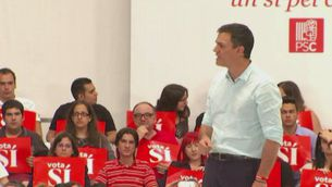 Declaracions Pedro Sánchez