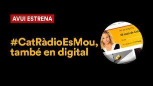 Promoció del nou disseny del web de Catalunya Ràdio