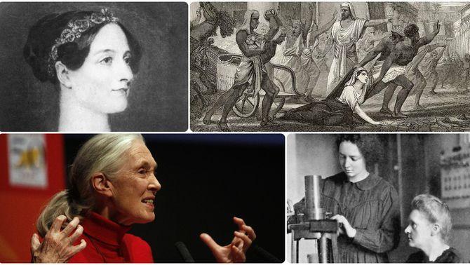 Setze dones que demostren que ciència s'escriu en femení