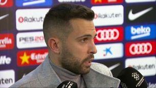 """Jordi Alba: """"Coutinho és totalment estil Barça"""""""