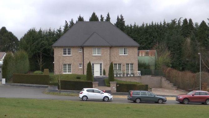 Casa de Carles Puigdemont a Waterloo
