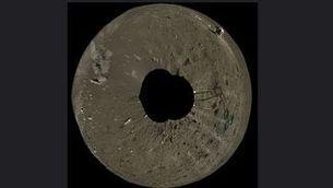 Xina mostra el vídeo de l'arribada de la seva nau a la cara oculta de la Lluna