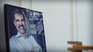 """Jordi Cuixart: """"Ni la presó ni l'exili poden condicionar els passos a seguir"""""""