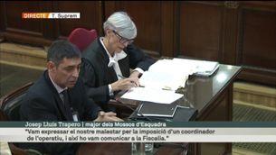 """Trapero: """"Els Mossos vam complir el mandat judicial. Tant com vam poder"""" [vídeo]"""