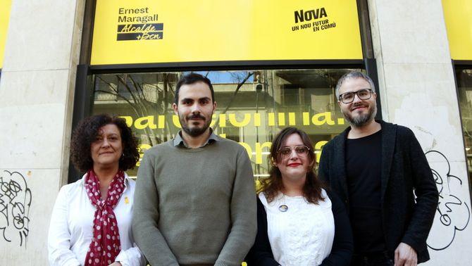 """ERC acorda amb NOVA concórrer junts el 26-M a Barcelona per """"sumar al voltant del sobiranisme progressista"""""""