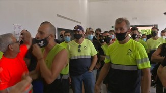 Imatge de:Mobilitzacions dels treballadors de la mina de Sallent-Vilafruns per evitar-ne el tancament