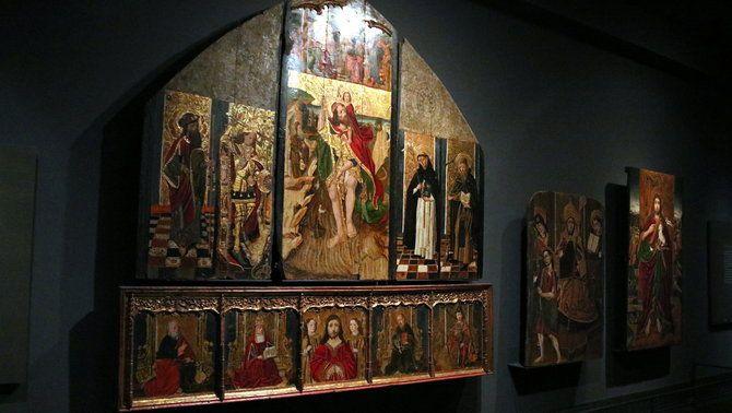 El llarg litigi per les obres de Sixena: Les peces de la Franja