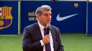 """Laporta llança un avís a Ilaix: """"Per damunt de tot, hi ha el Barça"""""""