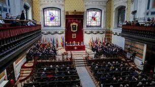 Un acte d'entrega de despatxos a nous jutges (Ricardo Rubio/Europa Press)