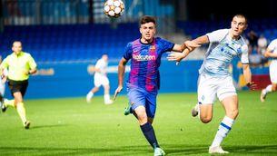 El Barça juvenil empata contra el Dinamo (0-0)