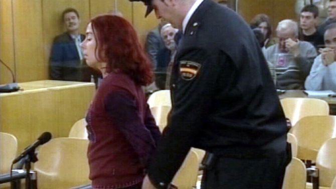 Inés del Río, detinguda el 1987 a Saragossa i condemnada a 3.828 anys de presó.