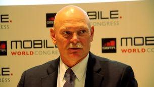 John Hoffman, el responsable de l'organització del Mobile World Congress (Foto: ACN)