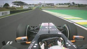Juncadella destrossa el Force India contra el mur