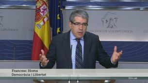 ERC i Democràcia i Llibertat constaten les diferències amb el PSOE