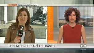 Podem preguntarà a les bases sobre el pacte amb PSOE i C's