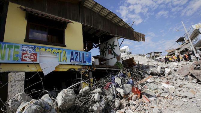 Un nou terratrèmol de 6,1 graus sacseja la costa nord de l'Equador