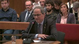 El Parlament demana a la JEC que rebutgi els recursos que volen inhabilitar Torra