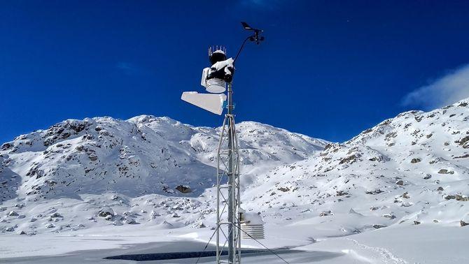Un observatori meteorològic del Pirineu ha arribat a -25 ºC