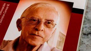 Pere Casaldàliga en la portada del seu llibre (EFE/Sebastiao Moreira)
