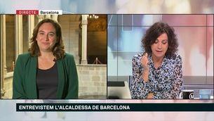 """Ada Colau: """"Hem de posar uns criteris rigorosos per ordenar el debat sobre les medalles"""""""