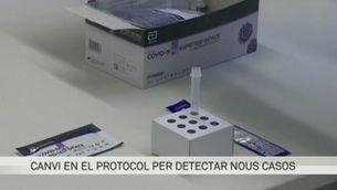 Salut farà testos ràpids d'antígens als contactes dels positius de coronavirus