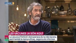 """Planta baixa - Joan Ramon Laporte: """"Amb la vacuna, estem entrant en un gran experiment massiu"""""""