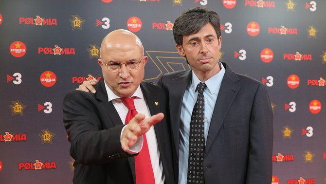 José Montilla (Sergi Mas) i Ángel Acebes (Bruno Oro) preparats per a 'La gala de 'Polònia' 15 anys'