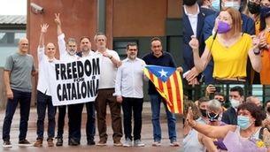 Surten de la presó els nou líders independentistes indultats