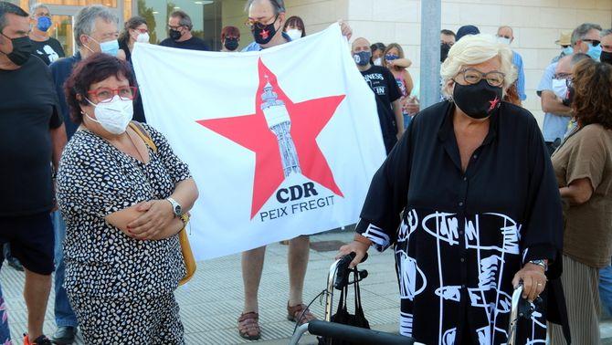 L'exconsellera Dolors Bassa ha acompanyat Mariona Reig als jutjats