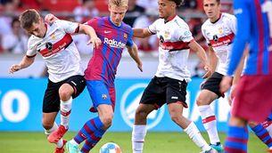 Frenkie de Jong és baixa i podria perdre's el primer partit de Lliga