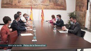 Aragonès demana lleialtat a Puigneró, mentre Junts vol que el president expliqui el veto a Sànchez, Turull i Nogueras