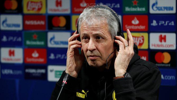 El tècnic suís del Borussia Dortmund Lucien Favre espera que el seu equip sigui capaç de fer un gran partit al Camp Nou